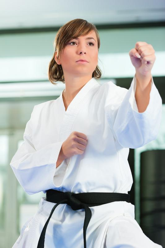 Frauen und Kampfsport